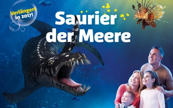"AquaDom & SEA LIFE Berlin: AquaDom & SEA LIFE Berlin: Saurier der Meere - ""Isolde ist da"""