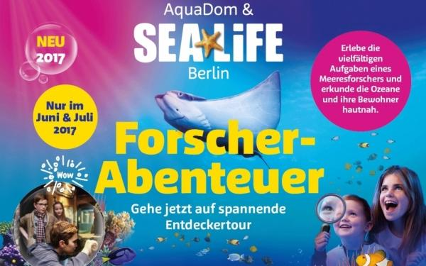 forscherabenteuer im aquadom sea life berlin 18 eintritt sparen. Black Bedroom Furniture Sets. Home Design Ideas