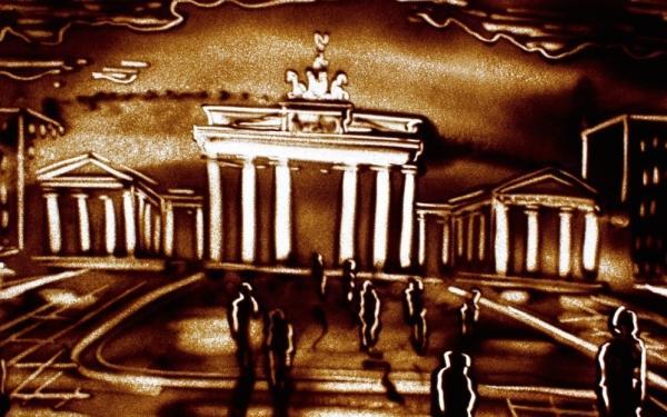 Sandmalerei Berlin Admiralspalast