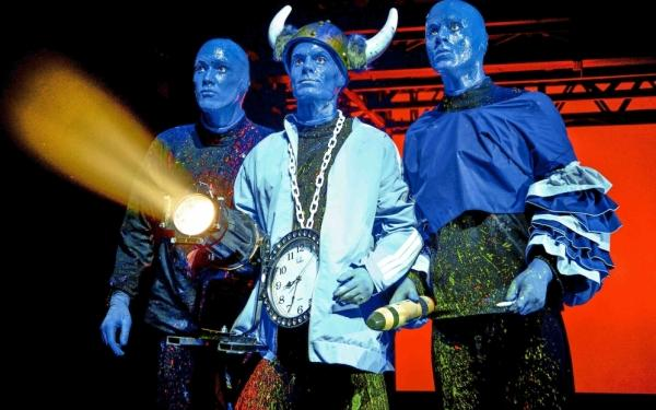 Stage Bluemax Theater: Stage Bluemax Theater: BLUE MAN GROUP: Tickets PK Poncho