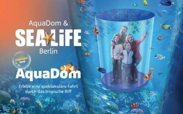 aquadom sea life bis zu 18 sparen im aquadom berlin bei tickets. Black Bedroom Furniture Sets. Home Design Ideas